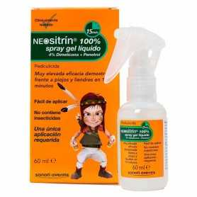 NEOSITRIN 100% SPRAY ANTIPIOJOS GEL LÍQUIDO 60 ML