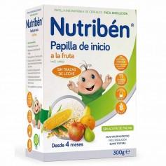 NUTRIBEN PAPILLA DE INICIO A LA FRUTA 300 GR