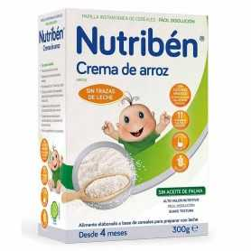 NUTRIBEN CREMA DE ARROZ SIN GLUTEN 300 GR