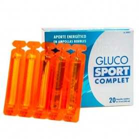 GLUCO SPORT COMPLET 20 AMPOLLAS BEBIBLES 10 ML