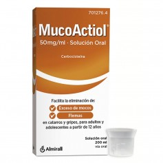 ACTITHIOL MUCOLITICO ADULTOS 50 MG/ML 200 ML