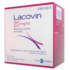Lacovin 20 MG/ML Solución Cutánea 4X60 ML