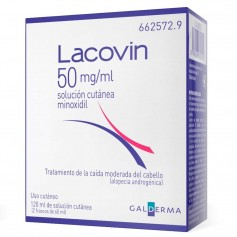 Lacovin 50 MG/ML Solución Cutánea 2X60 ML