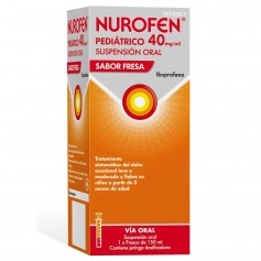 NUROFEN PEDIÁTRICO 40 MG/ML FRESA 150 ML