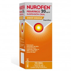 NUROFEN PEDIÁTRICO 20 MG/ML NARANJA 200 ML