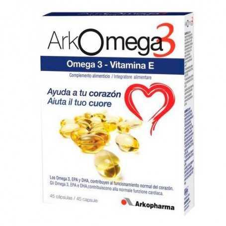 Arkomega Omega 3 45 Cápsulas