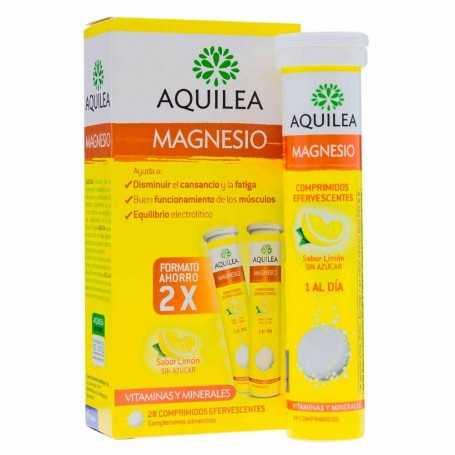 AQUILEA MAGNESIO 300 MG 28 COMPRIMIDOS EFERVESCENTES LIMÓN
