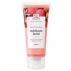 SOIVRE EXFOLIANTE FACIAL FRUTOS ROJOS 100 ML
