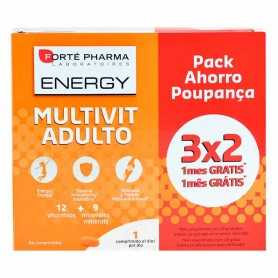 Forté Pharma Energy Multivit Adulto 84 Comprimidos