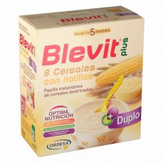 BLEVIT PLUS 8 CEREALES CON NATILLAS 600 GR