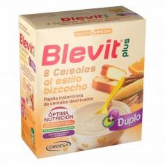 BLEVIT PLUS 8 CEREALES AL ESTILO BIZCOCHO 600 GR