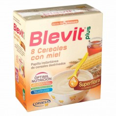 BLEVIT PLUS SUPERFIBRA 8 CEREALES MIEL 600 GR