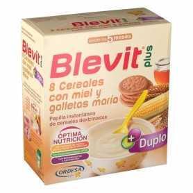 BLEVIT PLUS 8 CEREALES MIEL Y GALLETA MARÍA 600 GR