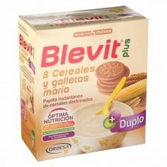 BLEVIT PLUS 8 CEREALES Y GALLETA MARÍA 600 GR