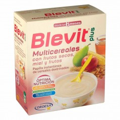 BLEVIT PLUS FRUTOS SECOS MIEL Y FRUTA 600 GR