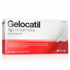 Gelocatil 1 GR 10 Comprimidos