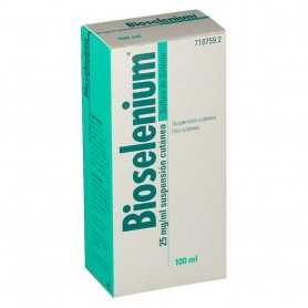 BIOSELENIUM 25 MG/ML SUSPENSIÓN CUTÁNEA 100 ML