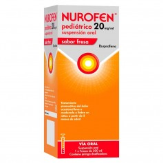 NUROFEN PEDIÁTRICO 20 MG/ML SUSPENSIÓN ORAL FRESA 200 ML