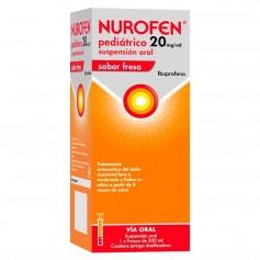Nurofen Pediátrico 20 MG/ML Suspensión Oral Fresa 200 ML