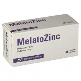 Melatozinc 1 MG 60 Cápsulas