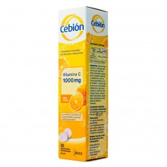 Cebion 1000 MG Vitamina C 20 Comprimidos Efervescentes