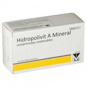 HIDROPOLIVIT A MINERAL 30 COMPRIMIDOS MASTICABLES