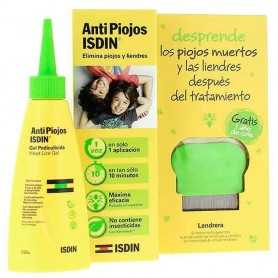 ISDIN ANTIPIOJOS GEL PEDICULICIDA CON LENDRERA