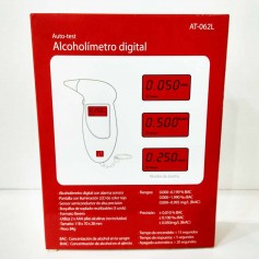 ALCOHOLÍMETRO DIGITAL AUTOTEST