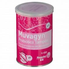 Muvagyn Probiótico Tampón Regular 9 Tampones Con Aplicador