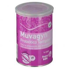 Muvagyn Probiótico Tampón Super 9 Tampones Con Aplicador
