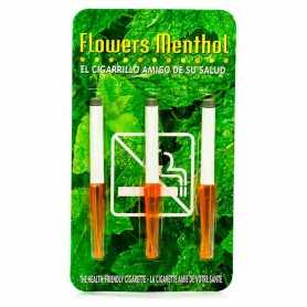 CIGARRILLOS FLOWERS MENTOL 3 U