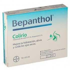 BEPANTHOL COLIRIO 10X0,5 ML