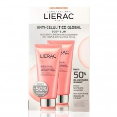 DUPLO LIERAC BODY SLIM ANTI CELULÍTICO GLOBAL 2X200 ML