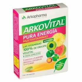 Arkovital Pura Energia Multivitamínico 30 Comprimidos
