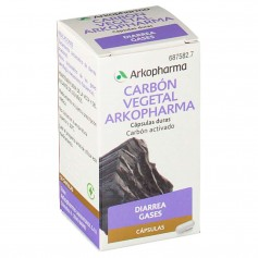 ARKOCAPSULAS CARBON VEGETAL 225 MG 50 CAPSULAS