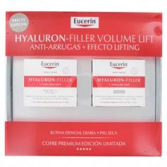 Cofre Eucerin Hyaluron-Filler Volume Lift Día Y Noche Piel Seca 2X50 ML