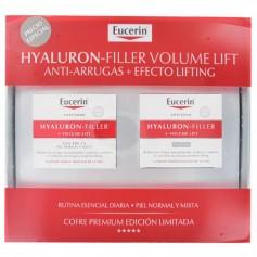 Cofre Eucerin Hyaluron-Filler Volume Lift Día Y Noche Piel Normal Y Mixta 2X50 ML
