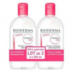 Duplo Bioderma Sensibio H2O 2x500 ML