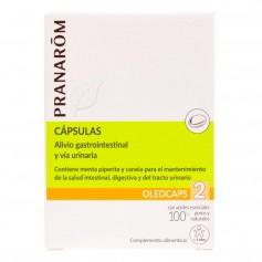 Pranarom Oleocaps 2 Bienestar Gastrointestinal y Vía Urinaria 30 Cápsulas