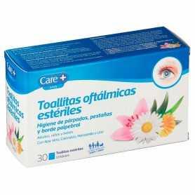 Care+ Toallitas Oftálmicas Estériles 30 U
