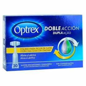 Optrex Monodosis Doble Acción Picor De Ojos 20X0,5 ML
