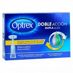 Optrex Monodosis Doble Acción Picor De Ojos 20X0,5 ML