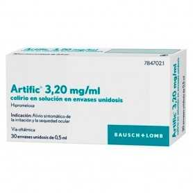 Artific Colirio Unidosis 30x05 ML