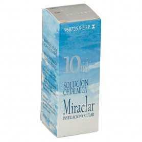Miraclar Solución Oftálmica 10 ML