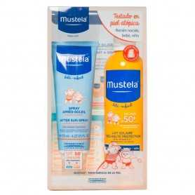 foto Pack Mustela Solar Leche Spf50+ 300 Ml + Aftersun 125 Ml