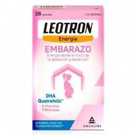 Leotron Embarazo 28 Cápsulas
