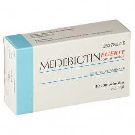 Medebiotin Fuerte 40 Comprimidos