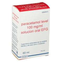 Paracetamol Level 100 MG/ML Solución Oral 60 ML