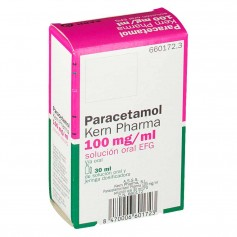 Paracetamol Kern Pharma 100 MG/ML Solución oral 30 ML