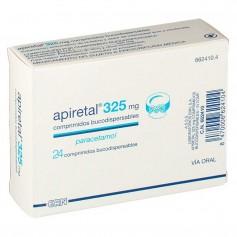 Apiretal 325 MG 24 Comprimidos bucodispersables